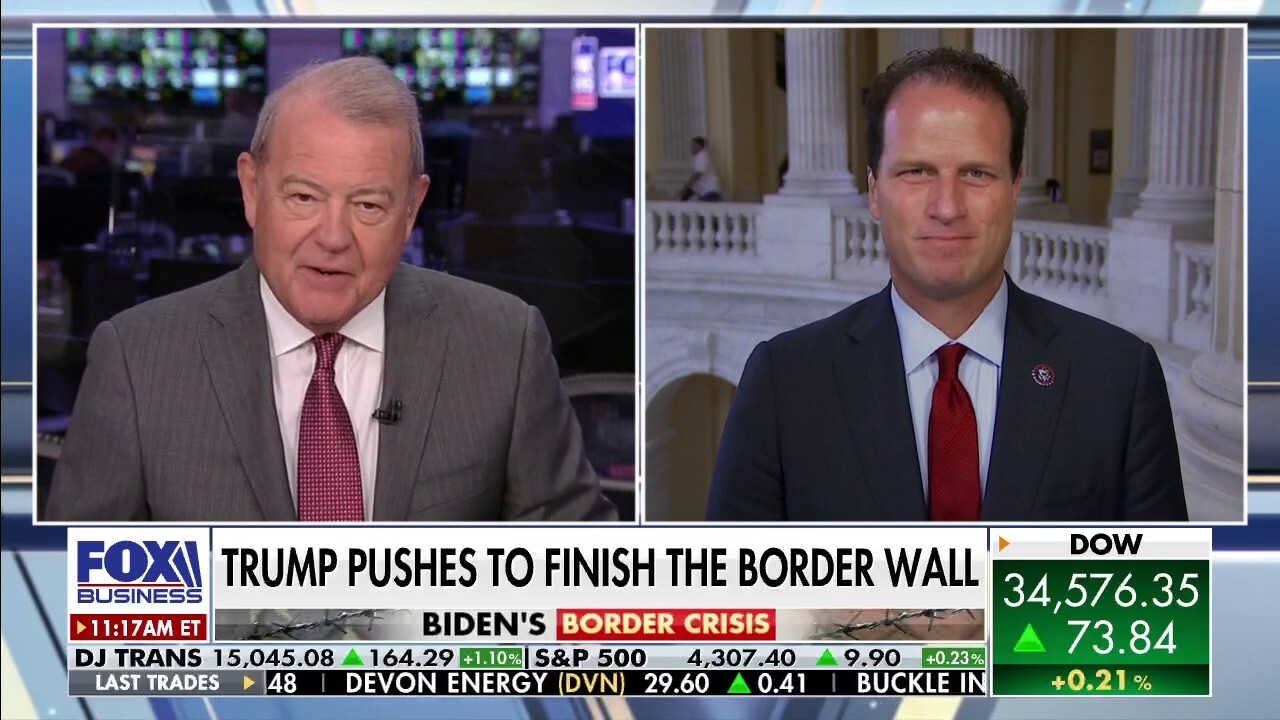 Rep. Pfluger on border visit with Trump: 'I saw a 6-year-old left in the brush by himself'