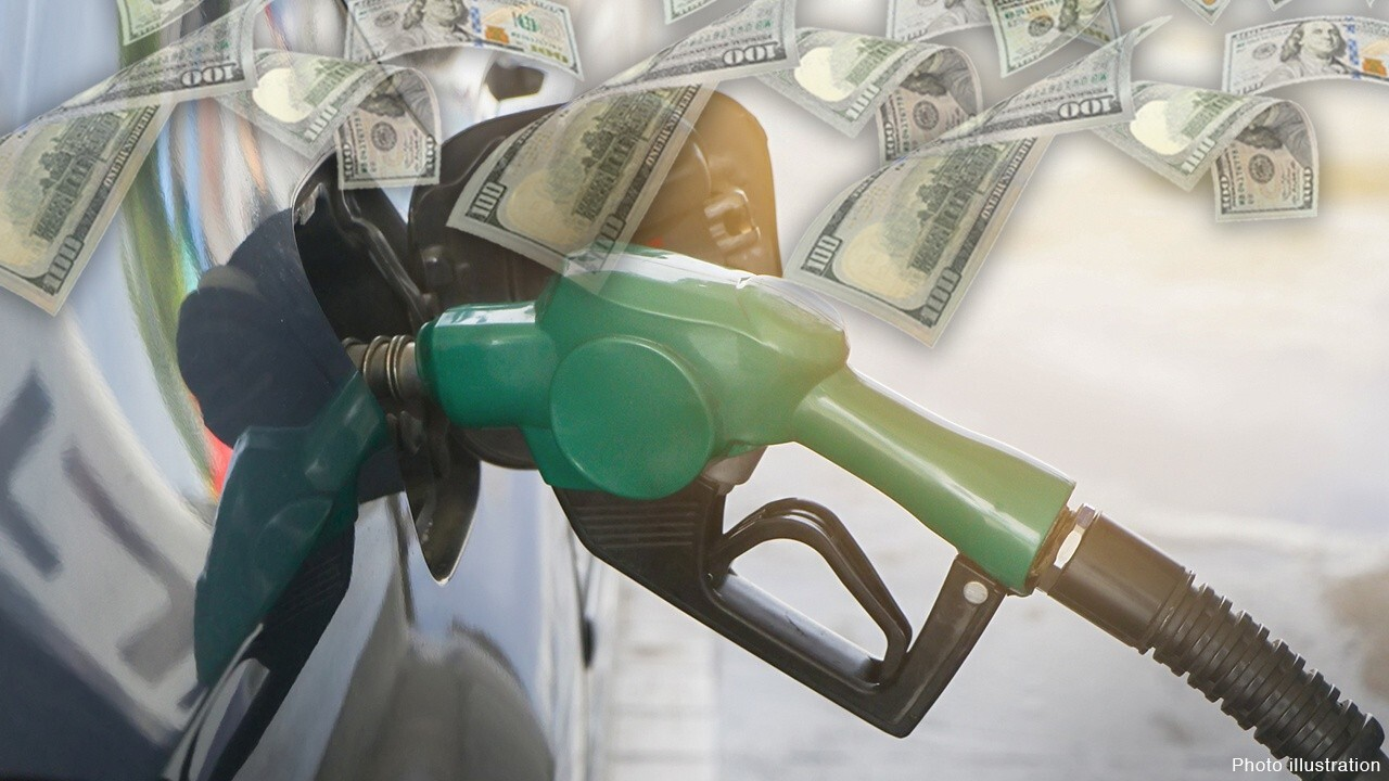 FOX Business' Jeff Flock reports on rising prices at the pump from Pennsylvania, noting the states that are facing the highest and lowest gas prices.