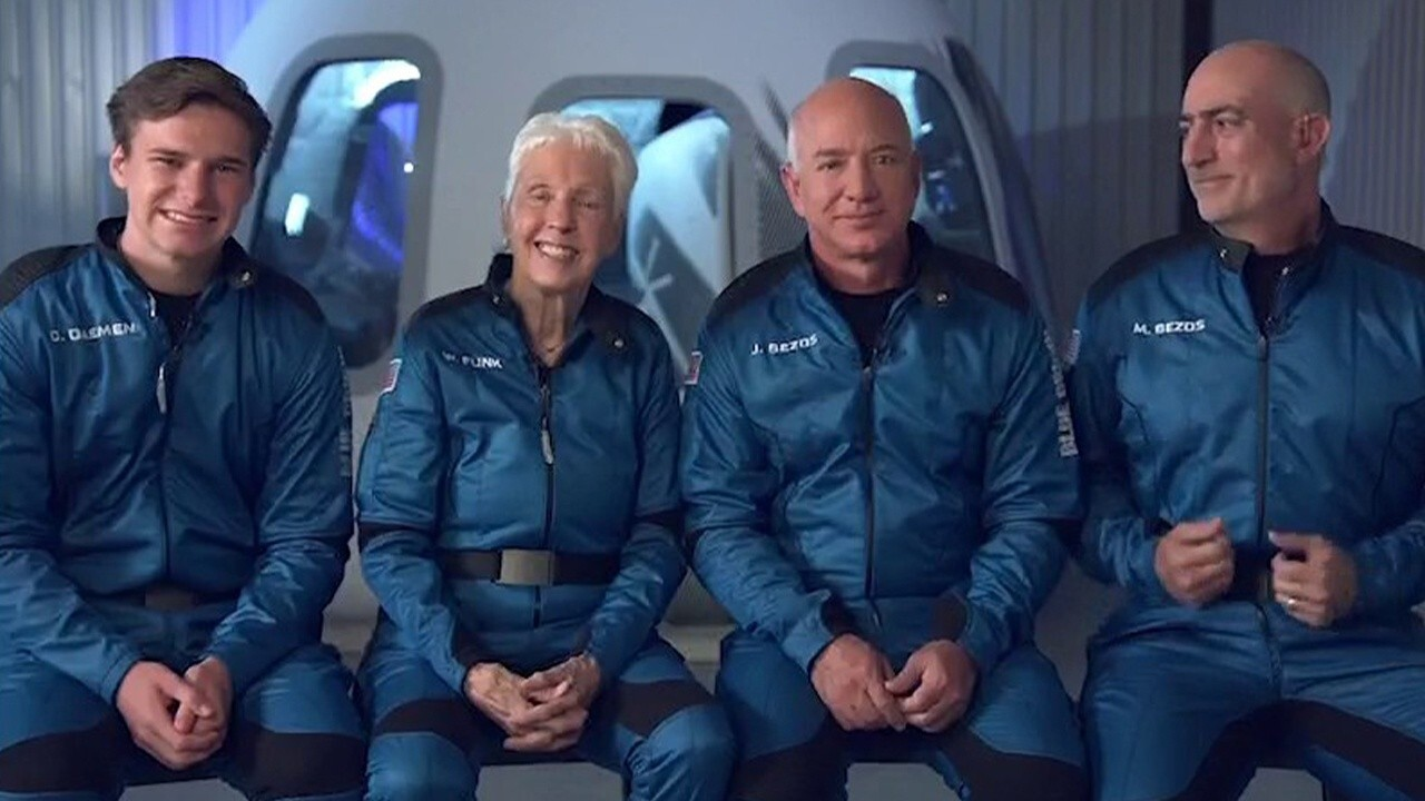 Blue Origin founder Jeff Bezos 'ready' for historic launch on New Shepard |  Fox Business