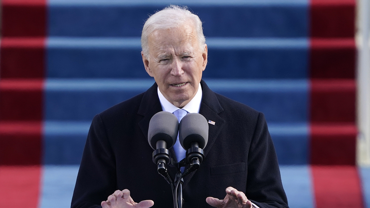 Former Acting Customs and Border Protection Commissioner Mark Morgan argues President Biden halting wall construction is 'politics being put in front of public safety.'