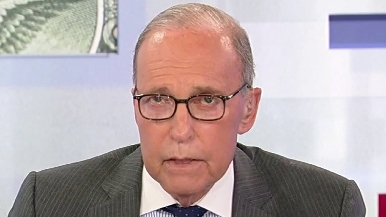 FOX Business host slammed Biden's exit strategy from Afghanistan amid the Taliban takeover on 'Kudlow'