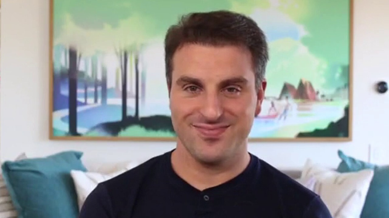 Brian Chesky tells 'The Claman Countdown' why he is projecting a big recovery for the industry