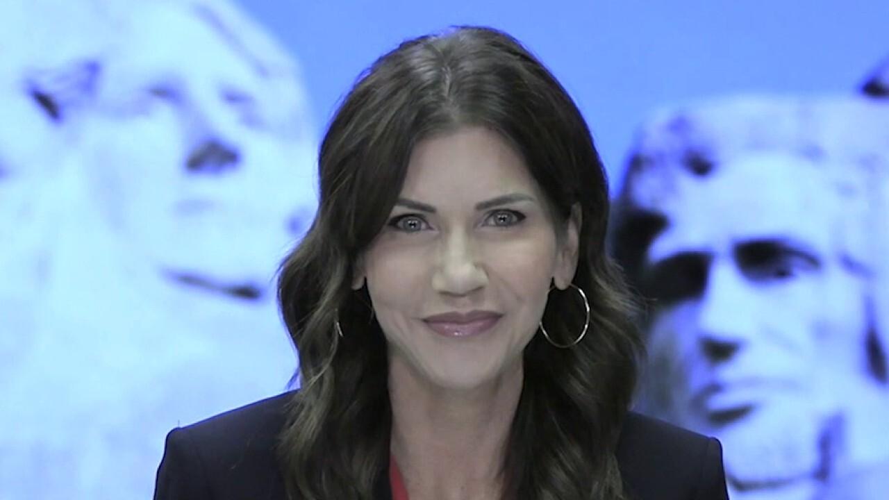 Kristi Noem blasts Biden's Mt. Rushmore fireworks ban