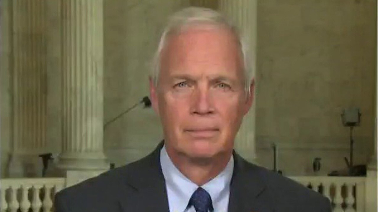Sen. Ron Johnson, R-Wis., discusses America's withdrawal from Afghanistan, which he calls a 'debacle,' and ongoing spending negotiations on Capitol Hill.