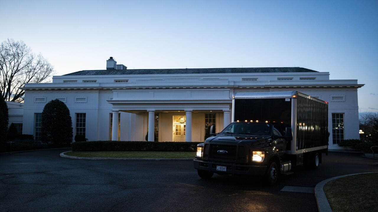 Inauguration Day is also moving day at the White House