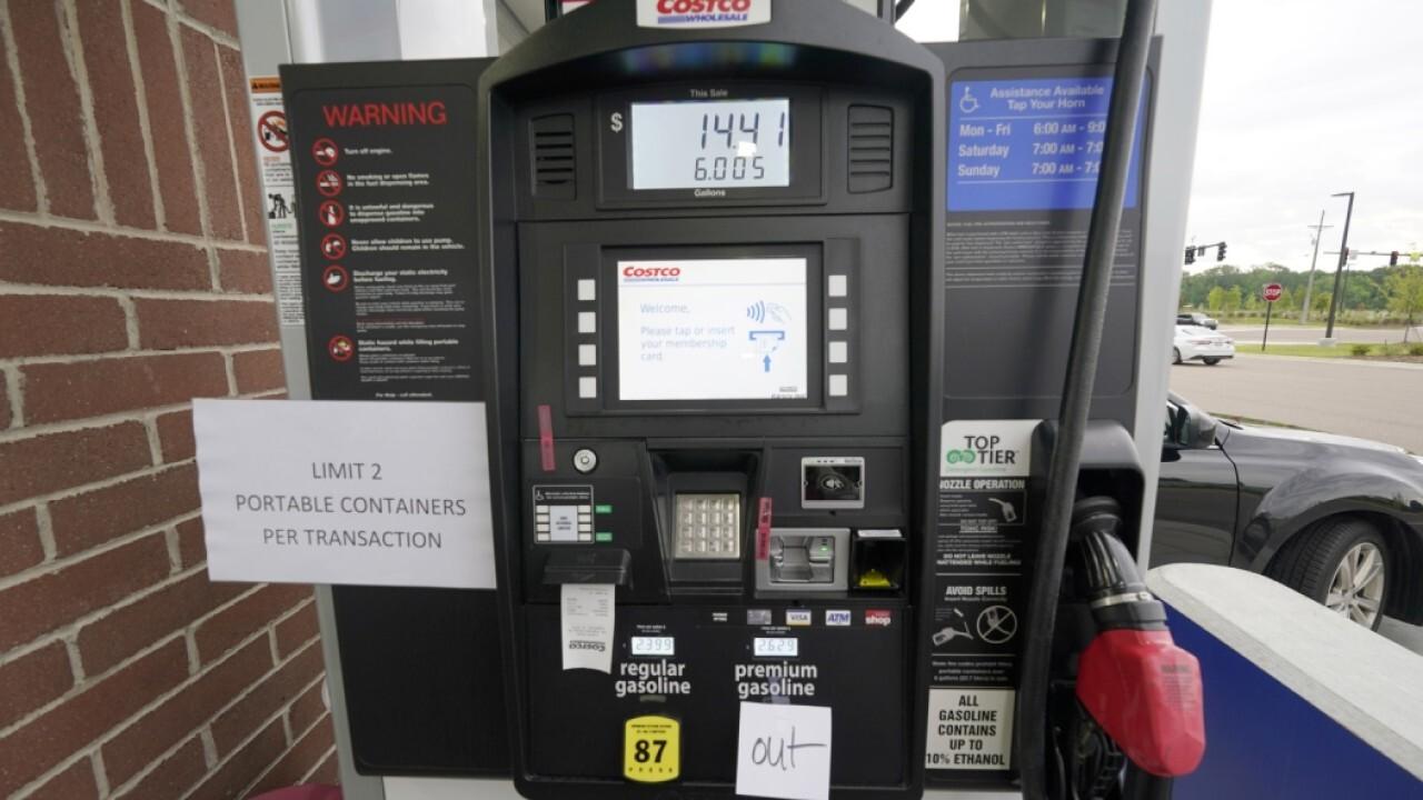Panic sets in as gas shortage slams Southeast