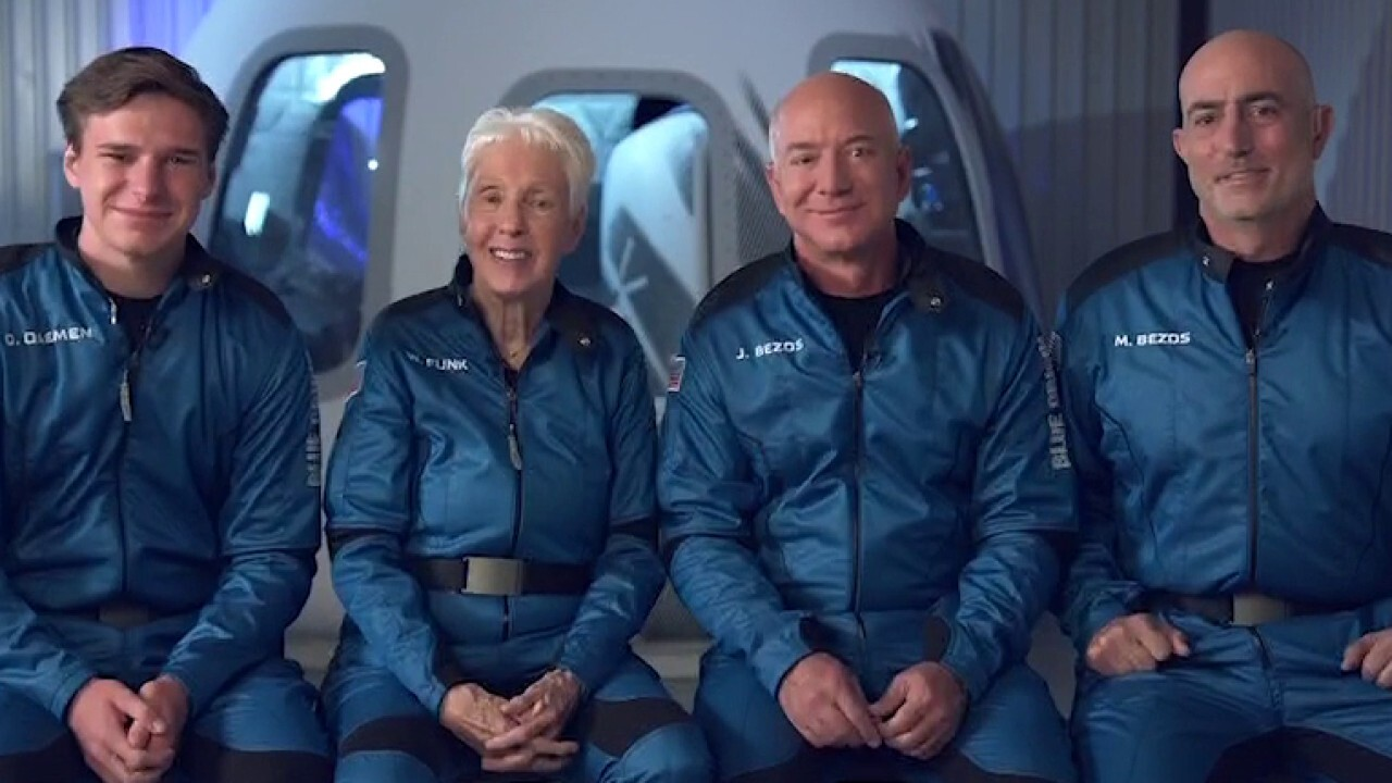 Blue Origin founder Jeff Bezos spoke with FOX Business' Neil Cavuto ahead of his trip on the aerospace company's New Shepard rocket for its first-ever crewed launch, noting that he feels 'very good' about the adventure.