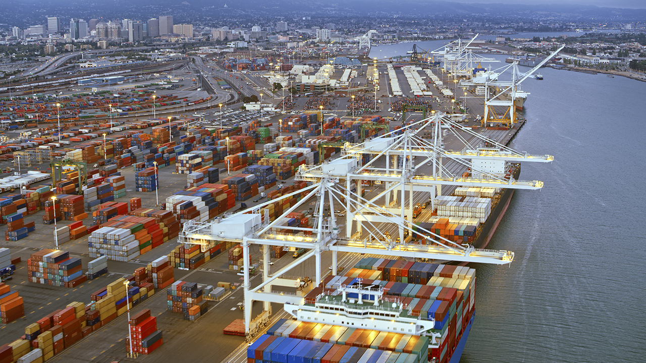 Port of Los Angeles executive director on record backlog of container ships hitting the US, labor shortage