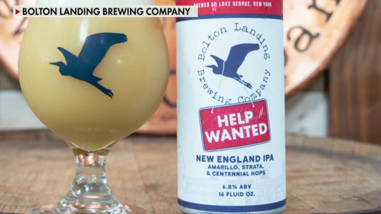 Brewery creates beer to battle labor shortage, find workers