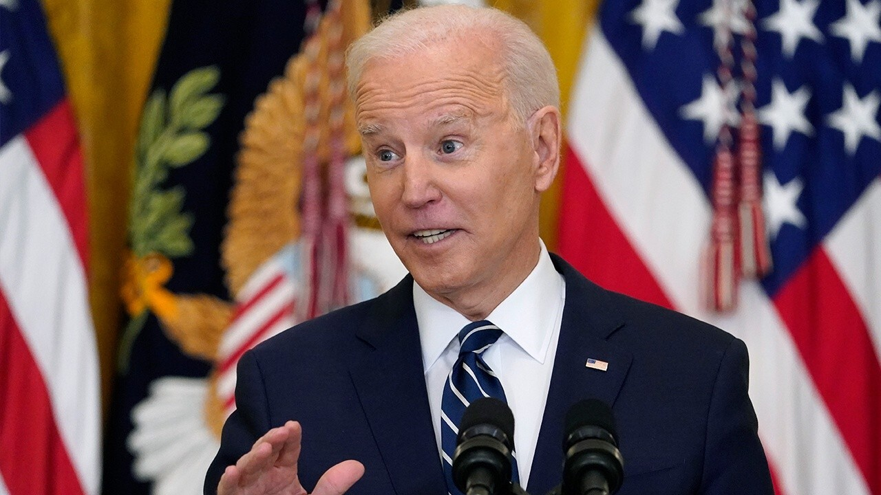 President Biden discusses his upcoming infrastructure plan in his first news conference.