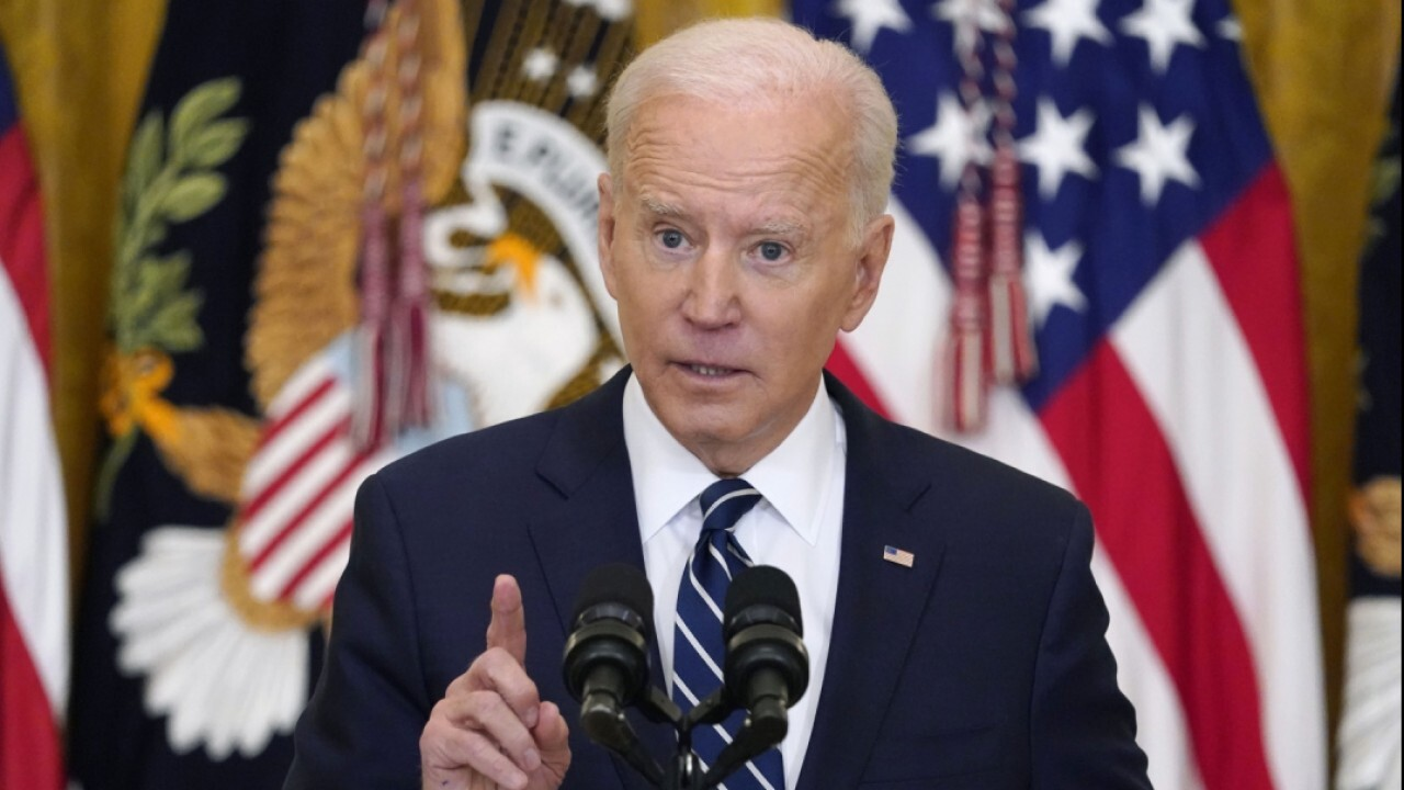 Biden: I want to 'change the paradigm' and 'reward work not just wealth'