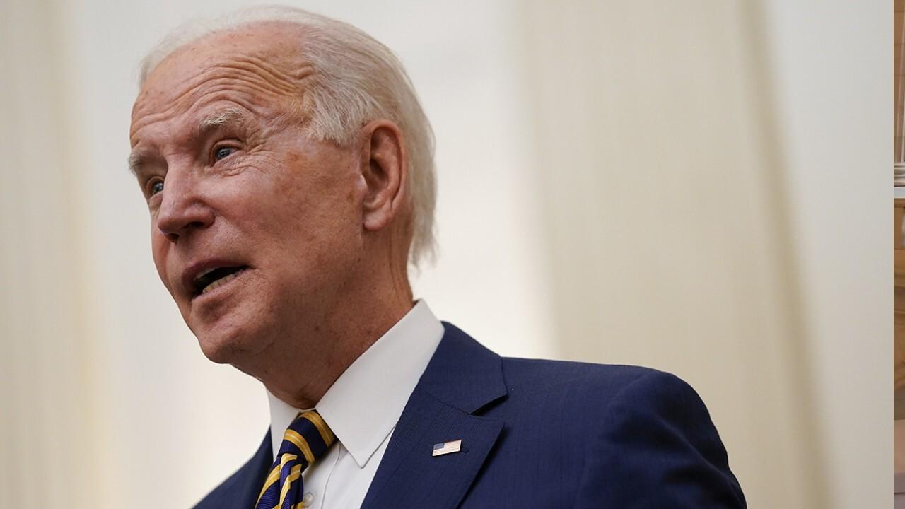 Biden meets with Democrats as spending agenda is on the brink