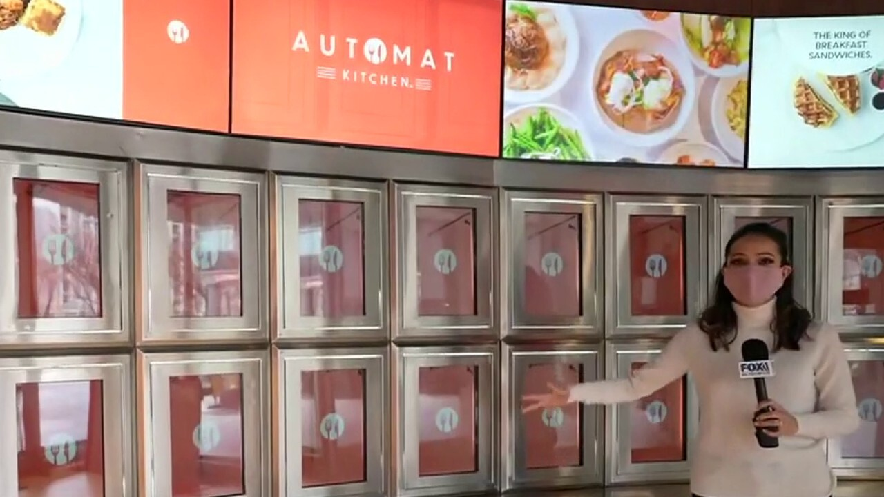 FOX Business' Lydia Hu reports from Automat Kitchen in Jersey City, N.J. on the rise of automated technology in the food industry.