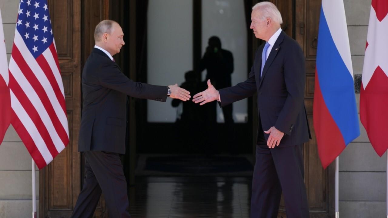 Biden-Putin summit underway in Geneva