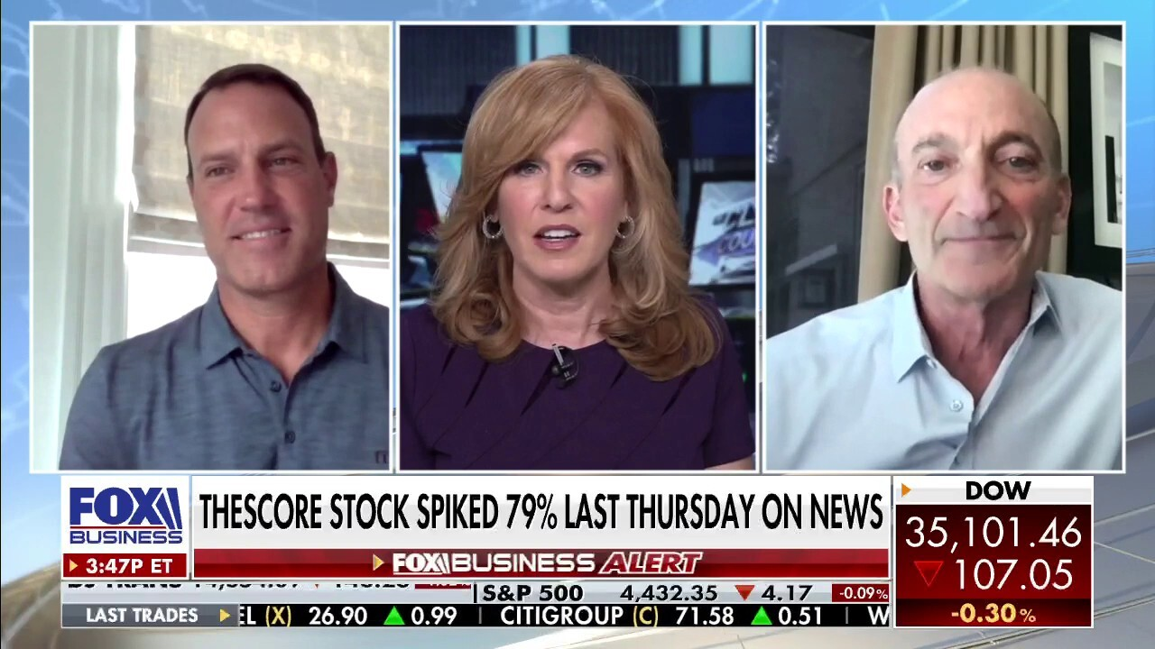 Penn National Gaming CEO Jay Snowden and theScore CEO and founder John Levy discuss the $2 billion sports-gaming acquisition.
