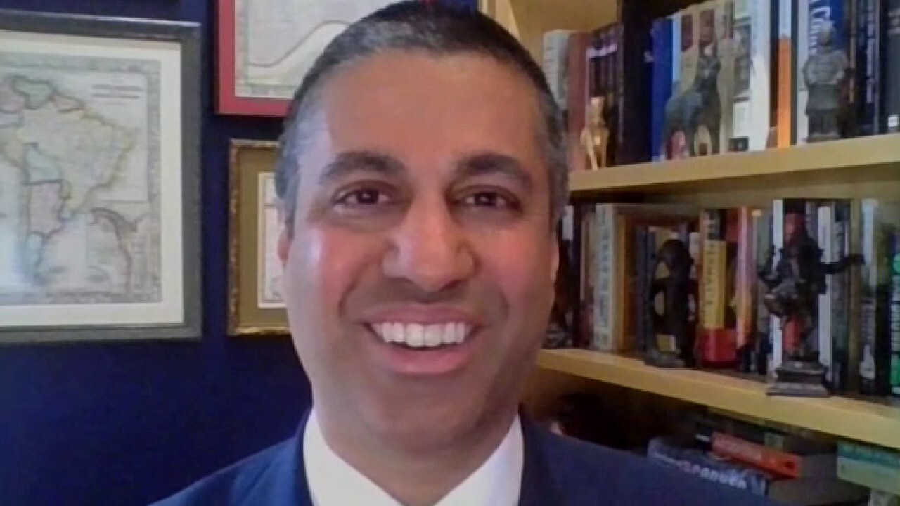 Ajit Pai on section 230 and infrastructure