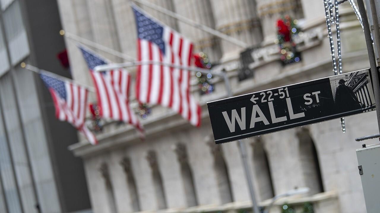 Stocks open in the red ahead of huge tech earnings week