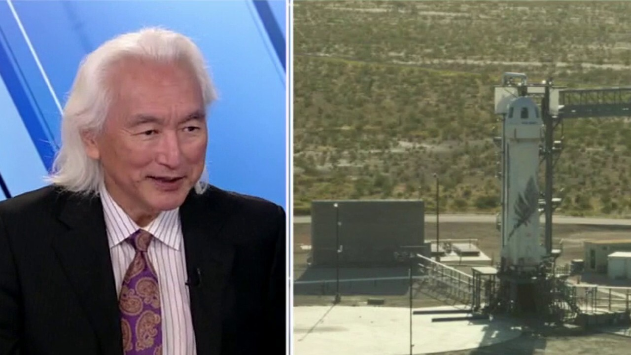Theoretical physicist Michio Kaku says Shatner going to space as the oldest person in history paints a bright future for older space travelers.