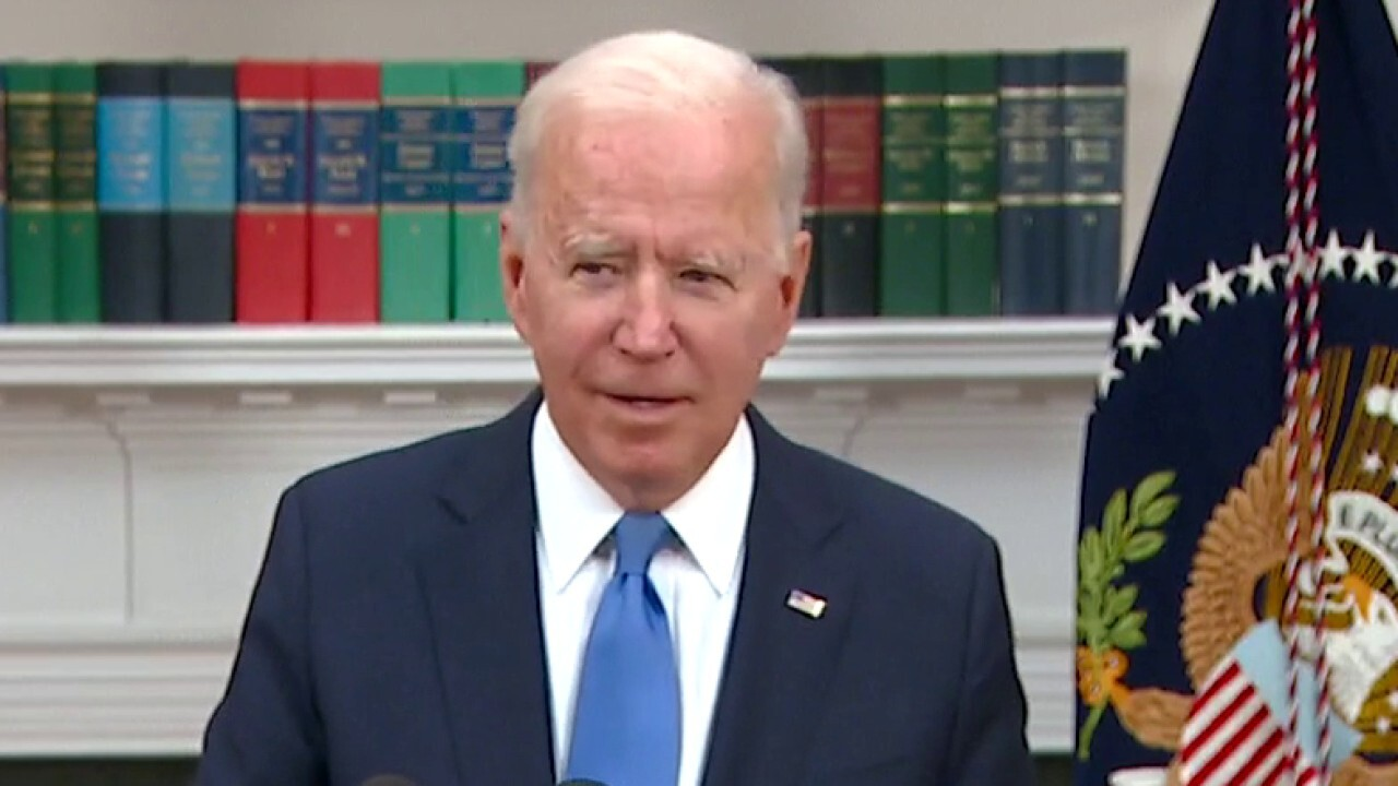 Biden on being briefed on Colonial Pipeline ransom: 'No comment'