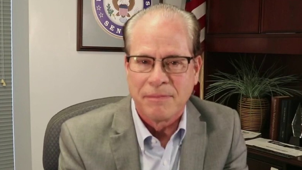 Sen. Mike Braun, R-Ind., criticizes the Biden administration's handling of the U.S. withdrawal from Afghanistan, arguing 'we definitely defaulted.'