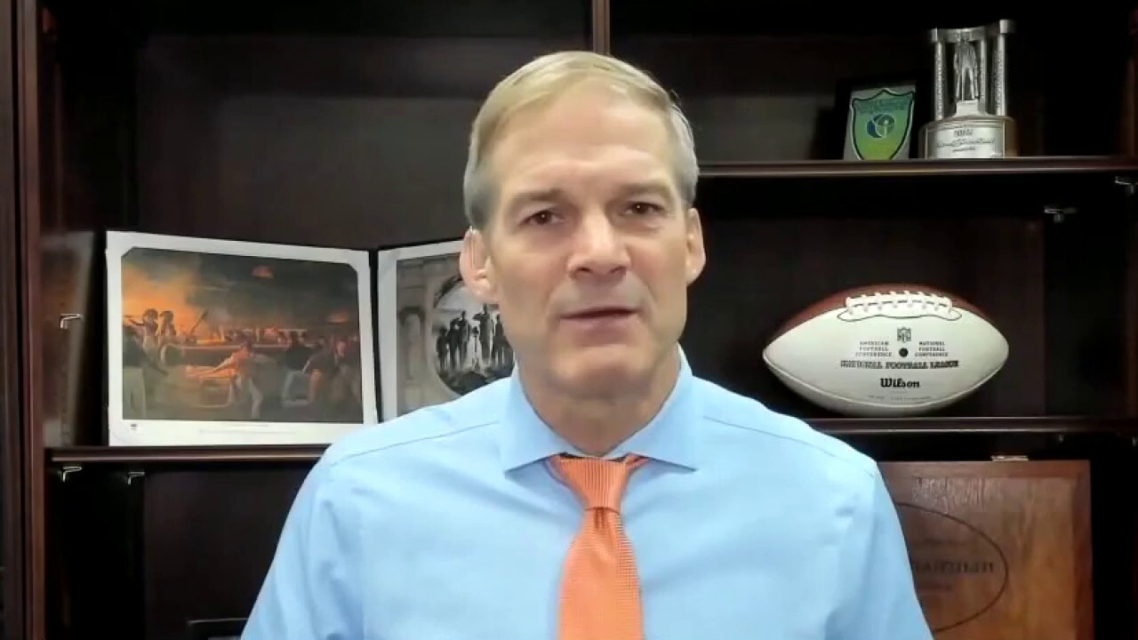 Jim Jordan: 'This is a marrying up of Big Tech and Big Government'