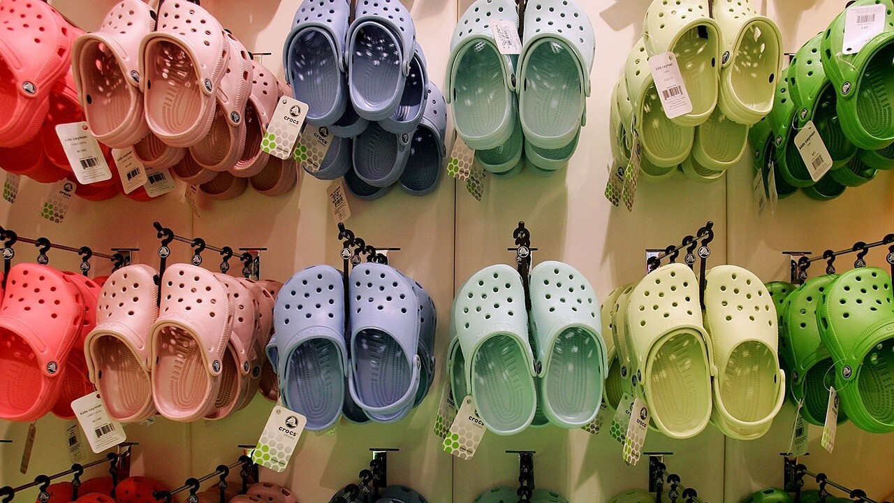 Crocs love-hate 'tension' really good for brand: CEO