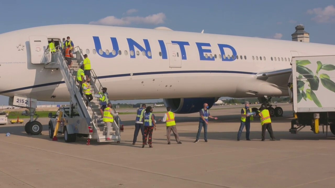 United Airlines has completed its first flight as part of the Civil Reserve Air Fleet, which is assisting in the effort to evacuate American citizens and personnel, Special Immigrant Visa applicants, and other at-risk individuals from Afghanistan.