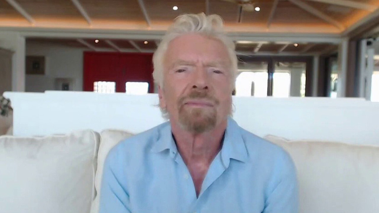 Virgin Group founder Sir Richard Branson and Virgin Orbit CEO Dan Hart discuss Virgin Galactic's efforts to bring people to space and Virgin Orbit's work to launch satellites into space.