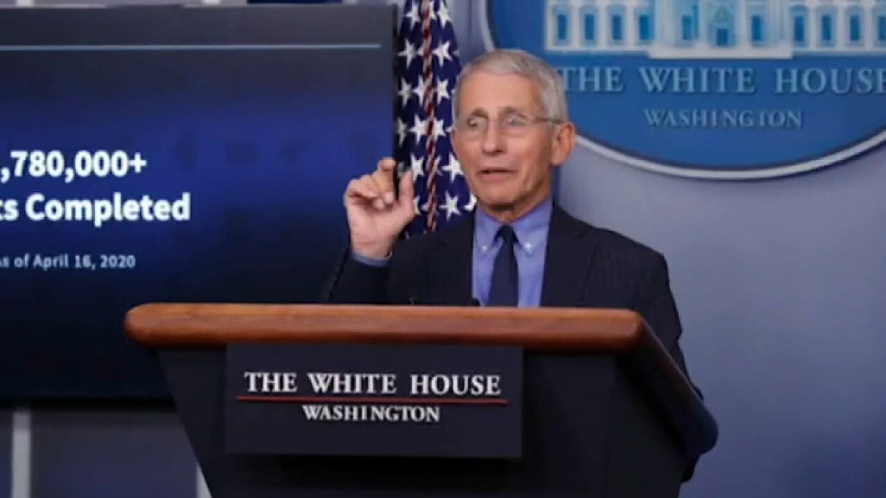 Fauci pushing back on claims he downplayed COVID origins