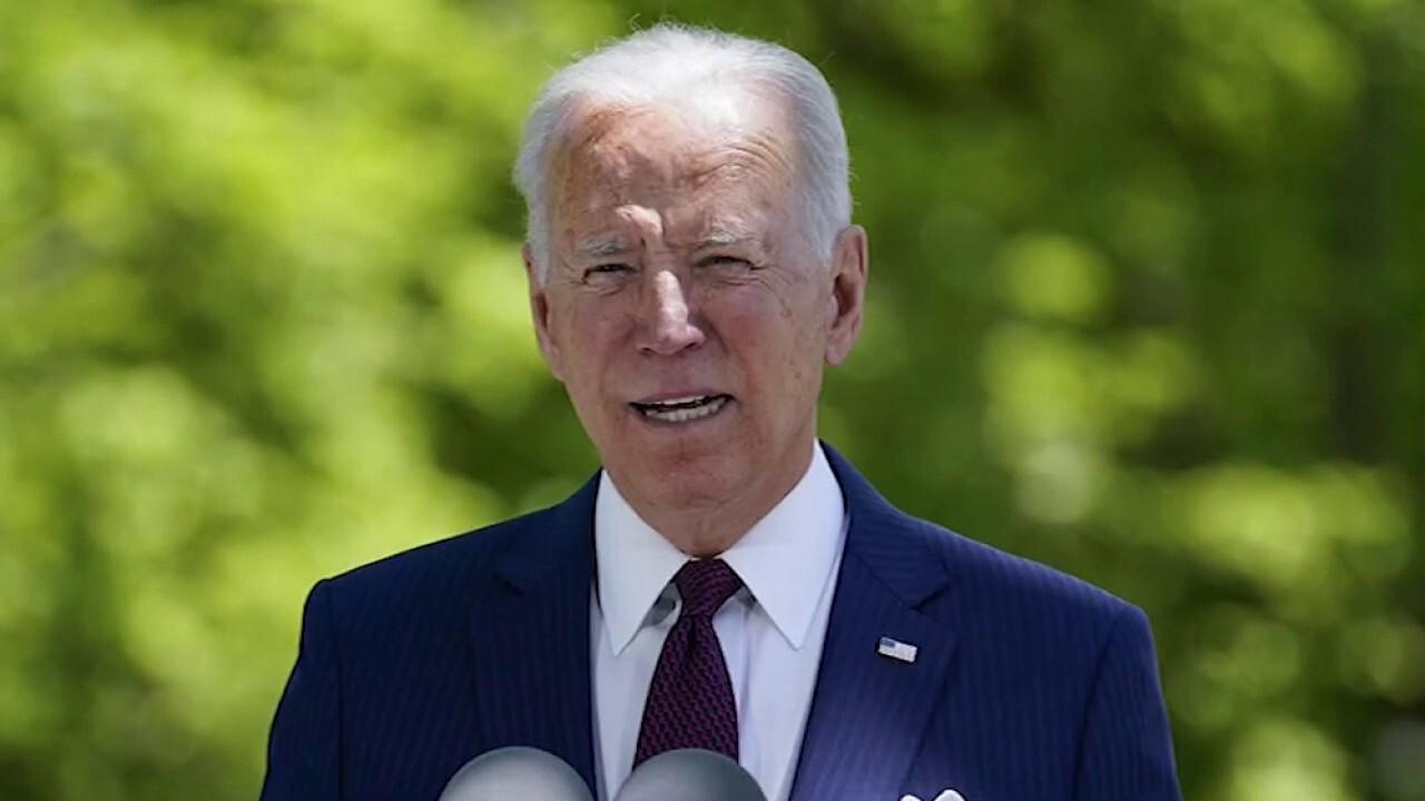 Biden pledges new crackdown on gun control amid surge in crime