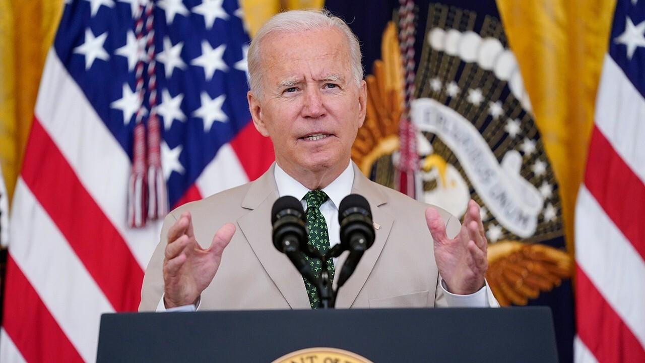 President Biden speaks on jobs, infrastructure and the American economy.