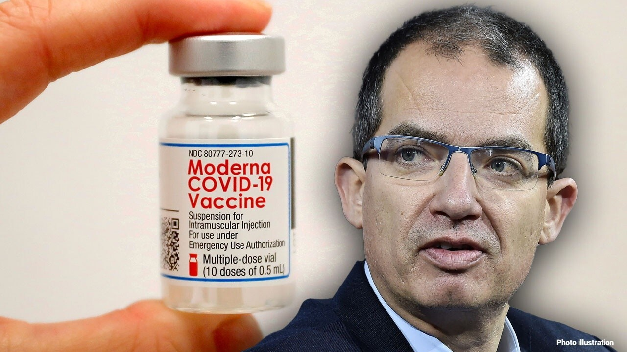 Moderna CEO Stephane Bancel discusses when to expect booster shots.