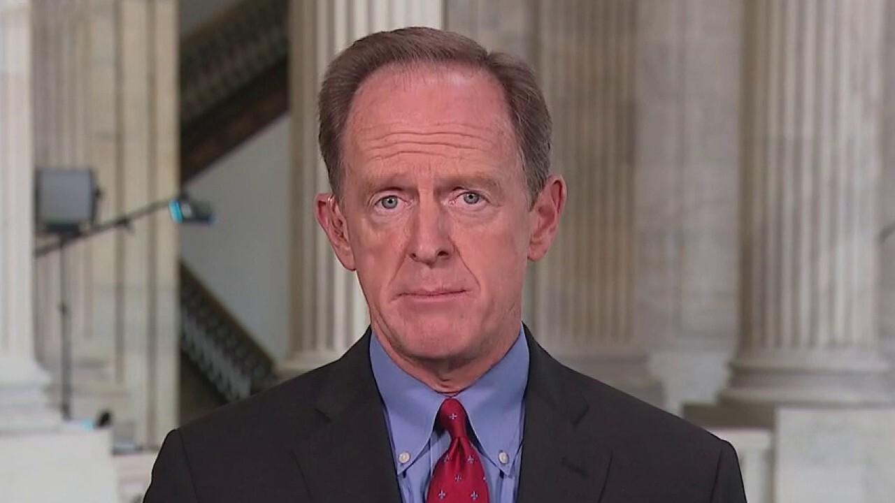 Sen. Toomey calls spending package 'a terrible idea'