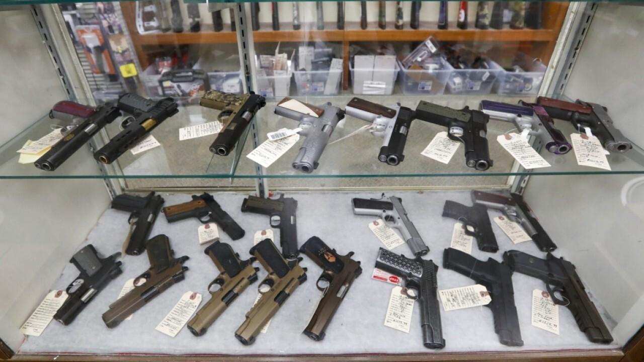 Jeff Regnier of Kee Firearms & Training discusses how new gun owners are driving sales ahead of President Biden delivering remarks on rising crime rates.