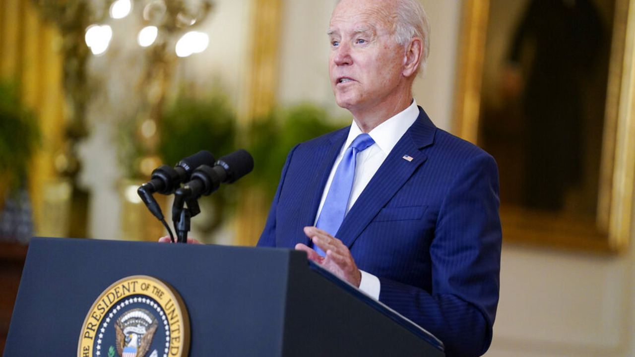 President Biden participates in an economic forum on energy and climate.