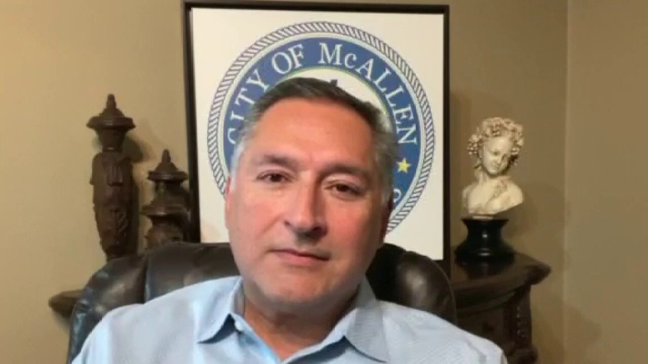 McAllen, Texas Mayor Javier Villalobos says his city is starting to be affected 'quite a bit' by the migrant surge at the southern border.