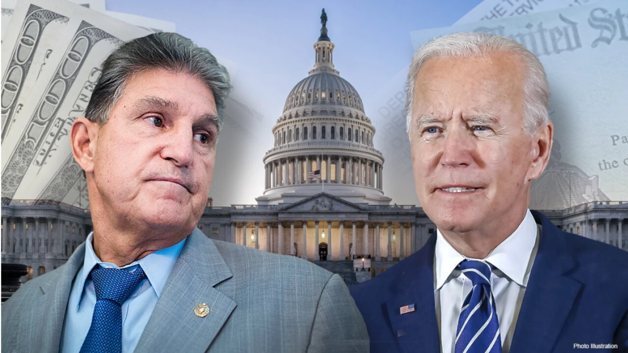 FOX Business' Edward Lawrence on Sen. Joe Manchin's 'new-found political power.'