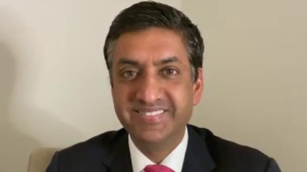 House Armed Services Committee member Ro Khanna argues the current minimum wage of $7.25 is not something Americans can survive on and a hike would improve productivity in the workforce.