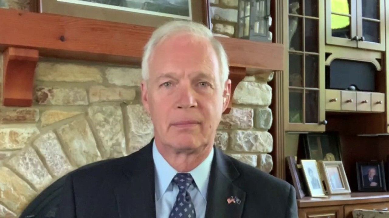 Sen. Ron Johnson, R-Wis., argues 'we know that China is guilty' for infecting the rest of the world with the novel coronavirus, and stresses that 'they need to be held accountable.'