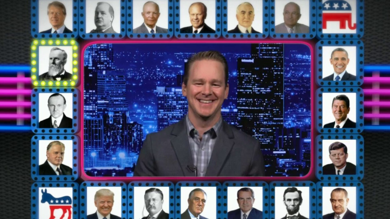 'Kennedy' panel plays presidential trivia game 'Prez Your Luck'