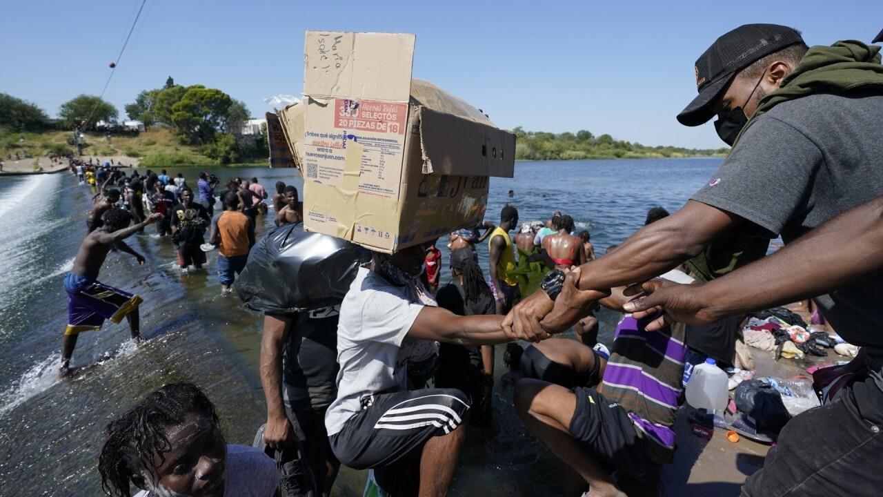 Stephen Miller calls the border crisis a 'complete surrender to criminality'