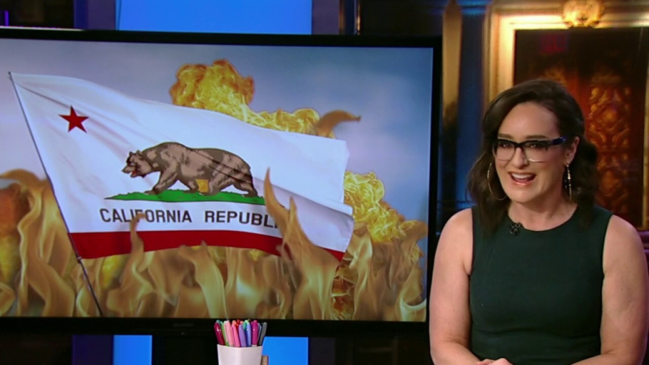 'Kennedy' host discusses incoming president's reported plan to 'make America California again.'