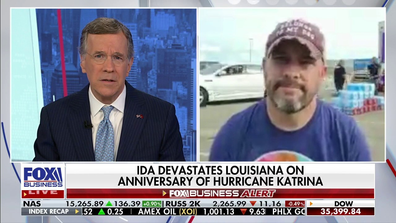 Cajun Navy ground force director Rob Gaudet explains how the organization helps with Hurricane Ida rescues on 'Fox Business Tonight'