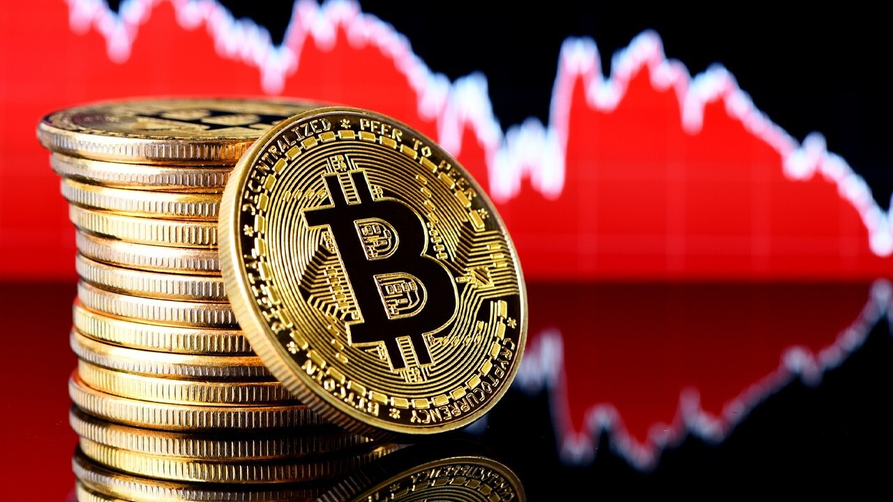 Bitcoin price drops 50 percent from its peak value