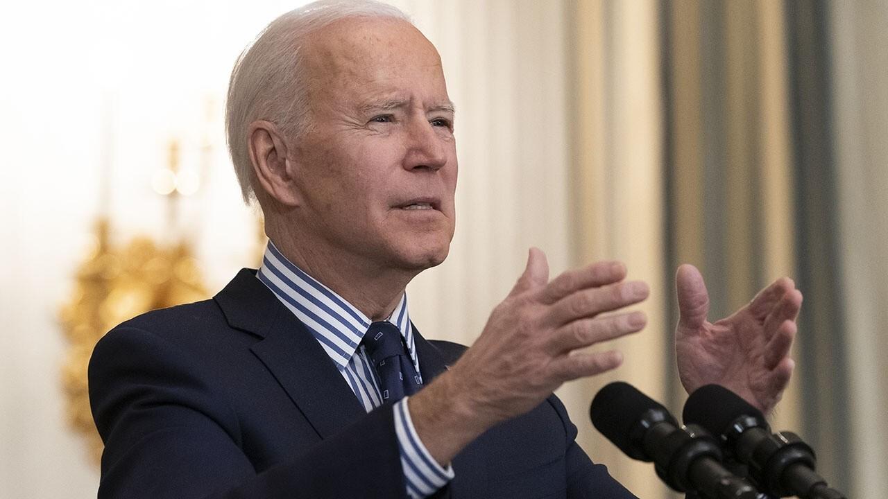 House Minority Leader reacts to Biden's spending bill on 'Kudlow'