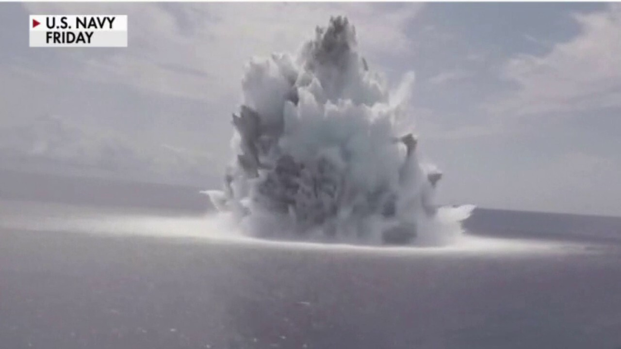 Navy's explosive test registers as 3.9 earthquake