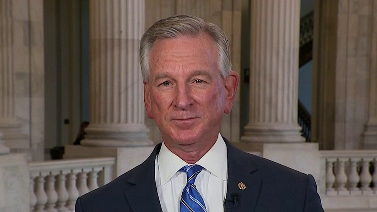 Sen. Tommy Tuberville, R-Ala., on ongoing spending negotiations on Capitol Hill.