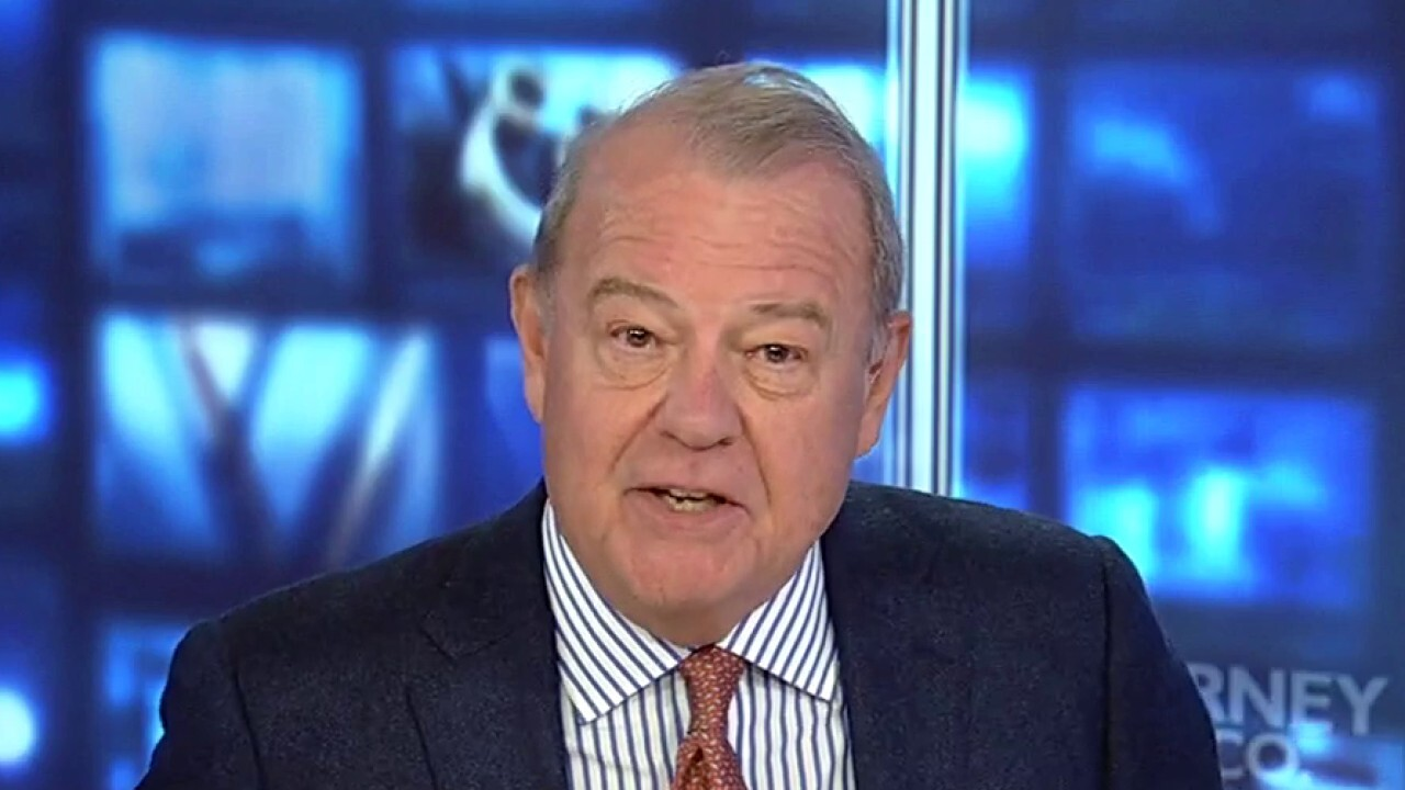 FOX Business' Stuart Varney argues that the U.S. economy will 'fall behind' if Biden gets his $5 trillion.
