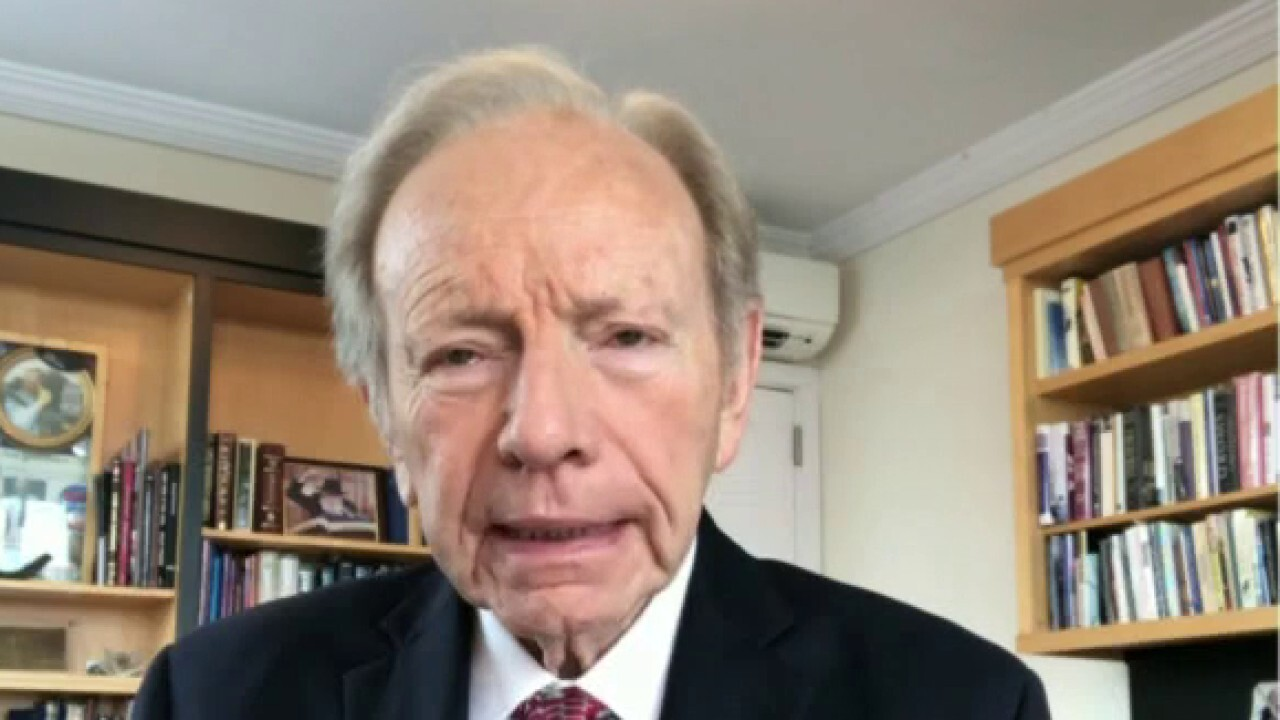 Former Sen. Joe Lieberman argues the reported meeting 'runs the risk of misleading' Iran to believe 'that they can wait out the current administration if they don't like what it was doing.'