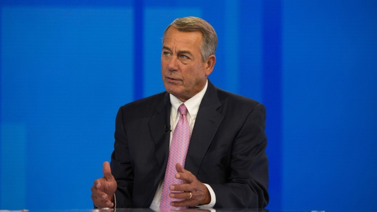 John Boehner points finger at Dems for debt crisis and calls it 'their problem'